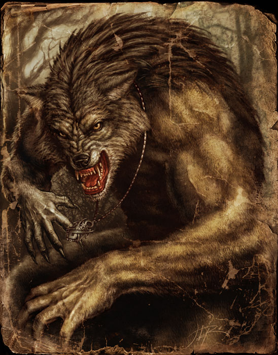 countdown to halloween werewolves - Halloween Werewolf